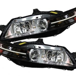 2004-2008 Acura TL Super Bright Switchback LED Strip Headlight Retrofit
