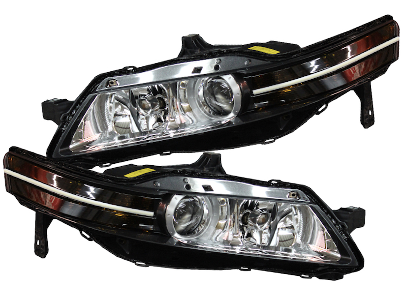Acura TL Super Bright Switchback LED Strip Headlight - 2018 acura tl headlights