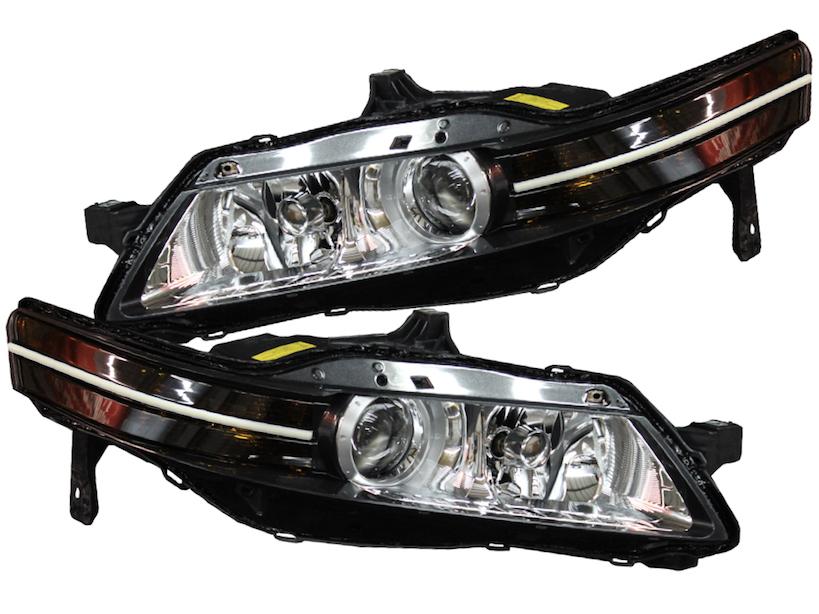 Acura TL Super Bright Switchback LED Strip Headlight - 2004 acura tl hid bulb