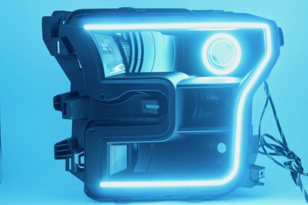 15-17 Ford F150 Led Halo Projector Headlights