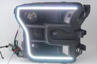 15-17 Ford F150 Black Projector Headlights