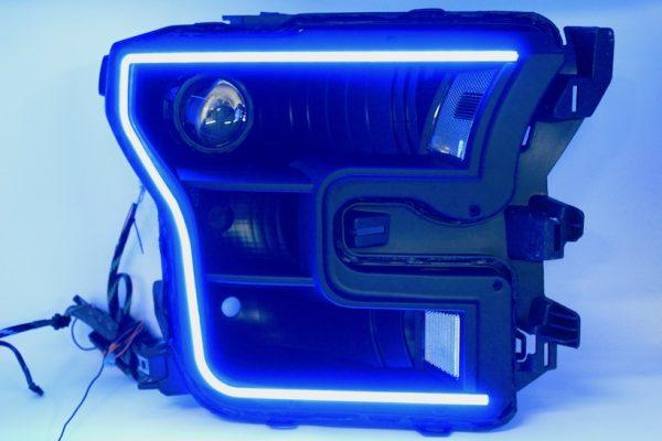 15-17 Ford F150 Black Projector Headlights