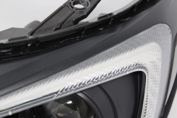 15-18 Subaru WRX LED RGB Black Projector Retrofit Headlights