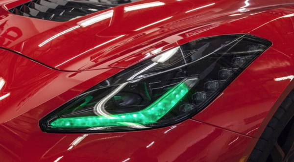 Chevrolet Corvette Customized Headlights