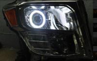 16-18 Nissan Titan Halo Projector Headlights