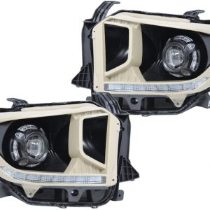 2014-2018 Tundra Projector Headlights with Daytime Running Lights