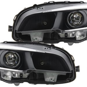 15-18 Subaru WRX STi Black Projector Headlights