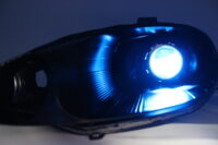 1999-2000 Mazda Miata Black Projector Lights
