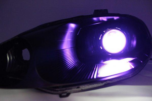 1999-2000 Mazda Miata Black Projector Lights
