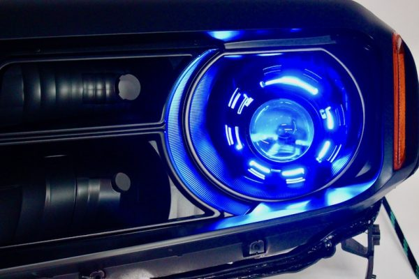 12-15 Honda Pilot Black RGBW Led Headlights