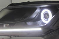 2013-2016 Nissan Pathfinder Black Halo Projector LED Headlights