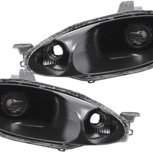 1999-2000 Mazda MX-5 Miata Black Projector Headlights