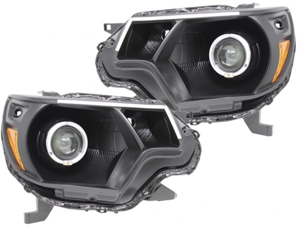 12-15 Toyota Tacoma Switchback LED Eyebrows Projector Headlights