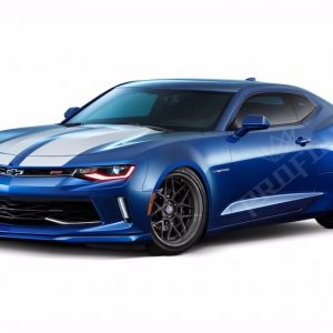 2016+ Chevrolet Camaro RGBW DRL Board Headlights