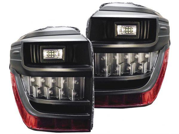 2014-2018 Toyota 4Runner Black LED Tail Lights