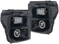11-16 Ford F350 Superduty Rigid LED Projector Headlights