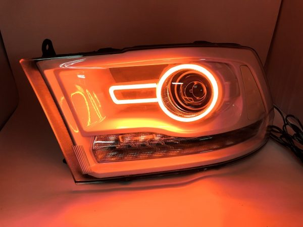 led rgb halo projector headlights