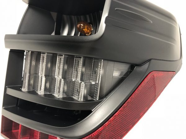 2014+ Toyota 4Runner Custom Retrofit Black LED Tail Lights