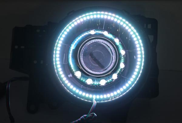 2007-2014 Toyota FL Crusier RGBW Led Halo Headlights
