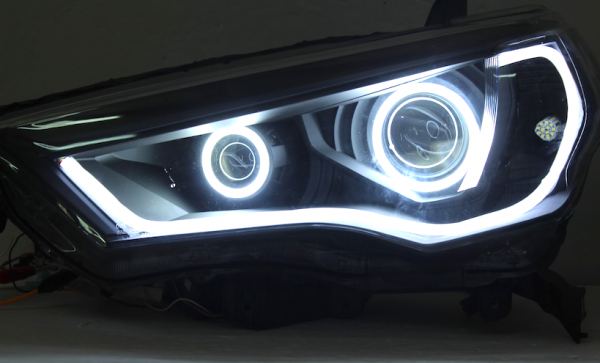 2014-2018 Toyota 4Runner Black LED Headlights