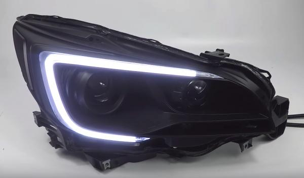 2015-2017 Subaru Outback Legacy Black Projector Headlights
