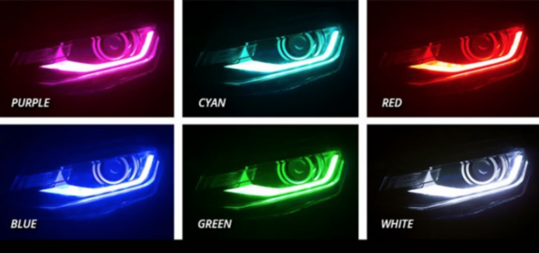 2016+ Chevrolet Camaro RGBW DRL Board Headlights