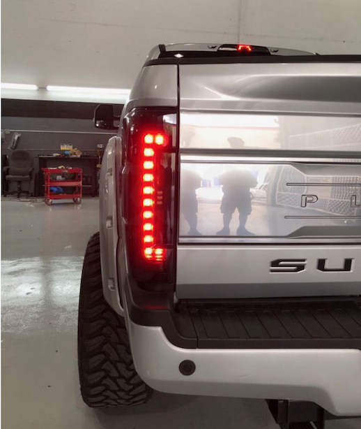 2017-2018 Ford F350 Superduty Custom LED Tail Lights