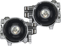 2007-2014 Toyota FJ Crusier Black LED Projector Headlights