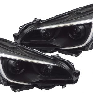 2015-2017 Subaru Outback Legacy Black Projector Headlights