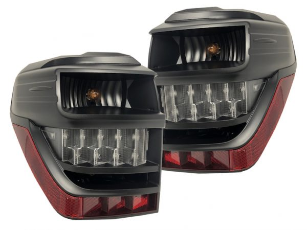 2014+ Toyota 4Runner Custom Retrofit Black LED Tail Lights
