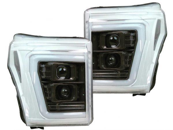 11-16 Ford F250 Superduty Ostar LED Projector Headlights