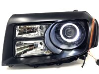2012+ Honda Pilot Black Headlights Switchback Led Halo Lamps