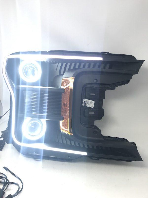 18-19 Ford F-150 Quad Retrofit Led Halo Projector Headlights