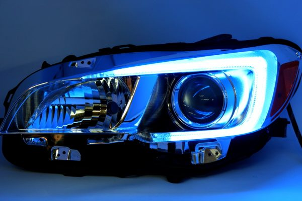 15-18 Subaru WRX STi LED Projector Lights