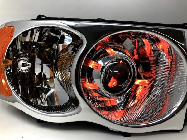 02-05 Dodge Ram LED Halo Projector