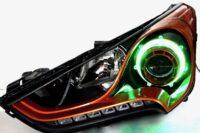 2013-2017 Hyundai Veloster LED Halo Projector Headlights