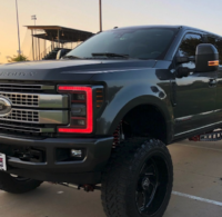 2017+ Ford Super Duty Custom LED RGBW Headlights
