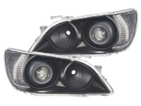 01-5 Lexus IS300 Black Projector Headlights