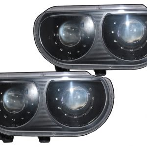 2008-2014 Dodge Challenger LED Projector Retrofit Headlights