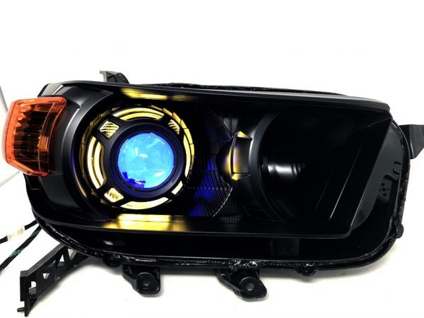 led halo projector headlights