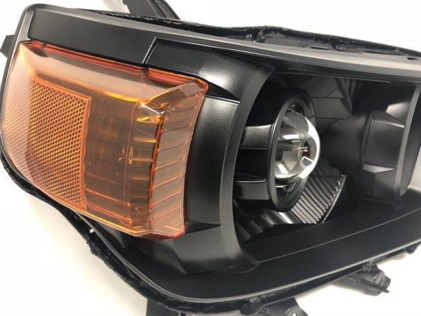 10-13 Toyota 4Runner Retrofit Black Headlights