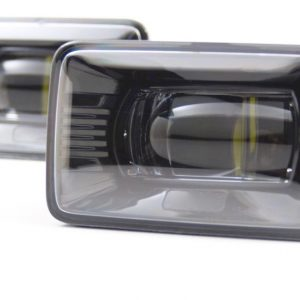 17+ Ford Super Duty Black LED Fog Lamps
