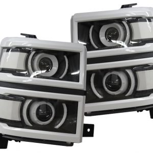 2014-2015 Chevrolet Silverado Projector Retrofit Headlights