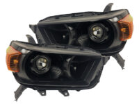10-13 Toyota 4Runner Retrofit Black Headlights