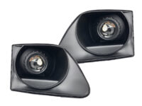 97-03 Ford F-150 Black Projector Headlights
