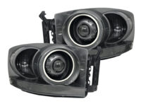 06-09 Dodge Ram 1500 Led Halo Projector Headlights