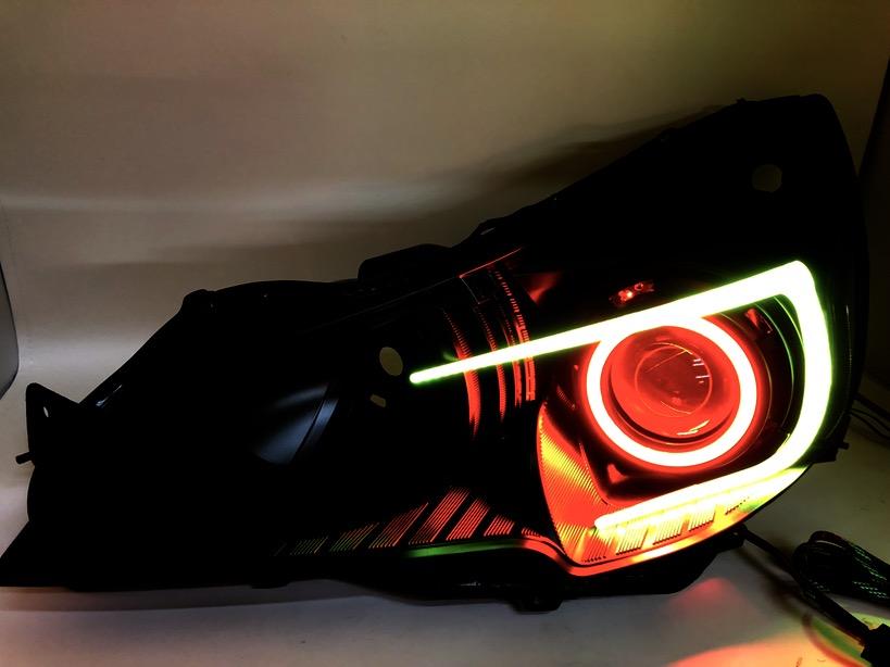 Custom Subaru Outback >> 2010-2014 Subaru Outback Legacy Led Halo Projector ...