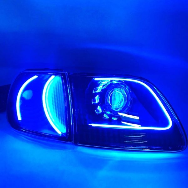 1997-2003 Ford F-150 LED Lights Projector Retrofit Headlights
