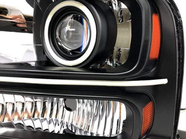 f-350 halo projector led switchback