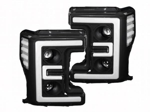 2017 Ford Superduty LED DRL Dual Projector Headlights